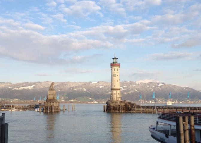 Spacious apartment on Lindau island - Lindau (Bodensee) - Huoneisto