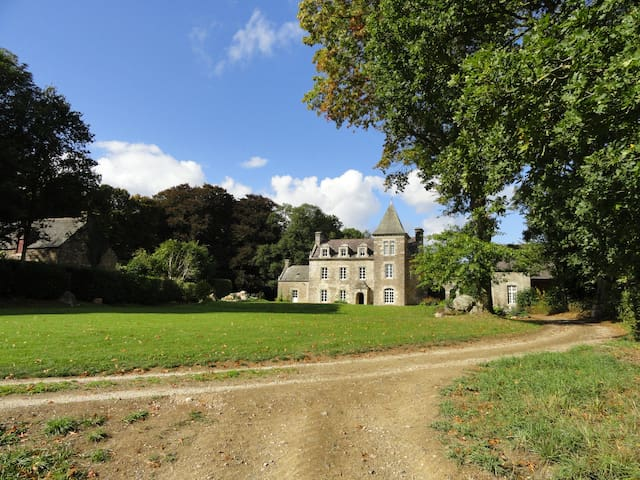 Château Ville Voisin - Brocèliande sleeps 2 - Augan - Bed & Breakfast