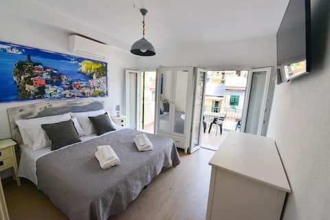 Apartament with kitchen in Vernazza's center