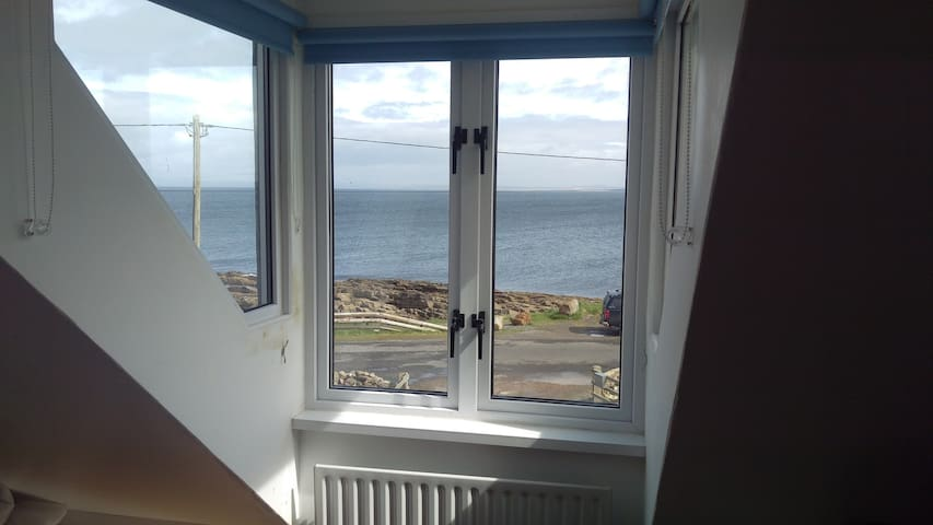 View from Bedroom 1.