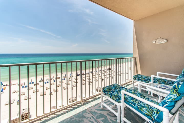 Gulf Front☼UPDATED UNIT☼Pools + Hot Tubs☼2 Step Sanitizing Process☼Tidewater 307