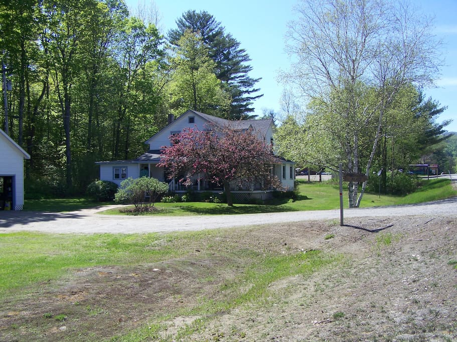 The Beaudin Place in Spring