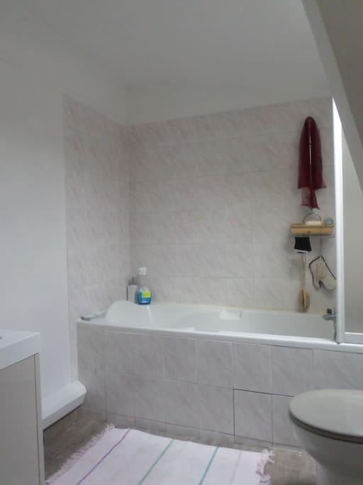 Salles de bains avec WC