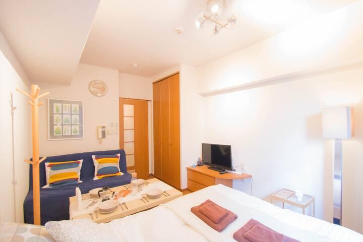 Comfortable Studio APT Shin-Osaka - Ōsaka-shi - Apartment