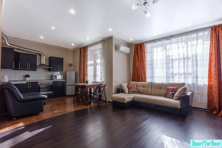 Лучшая просторная 1-комнатная квартира в Царицыно