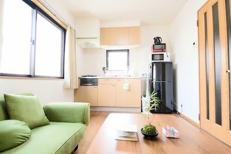 Direct go to Airport, Asakusa, Ginza,Tokyo tower ! - Shinagawa-ku - Lägenhet