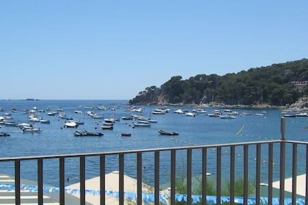 Apartment located in the centre of Calella de Palafrugell in front of the Voltes Beach, wi - Calella de Palafrugell