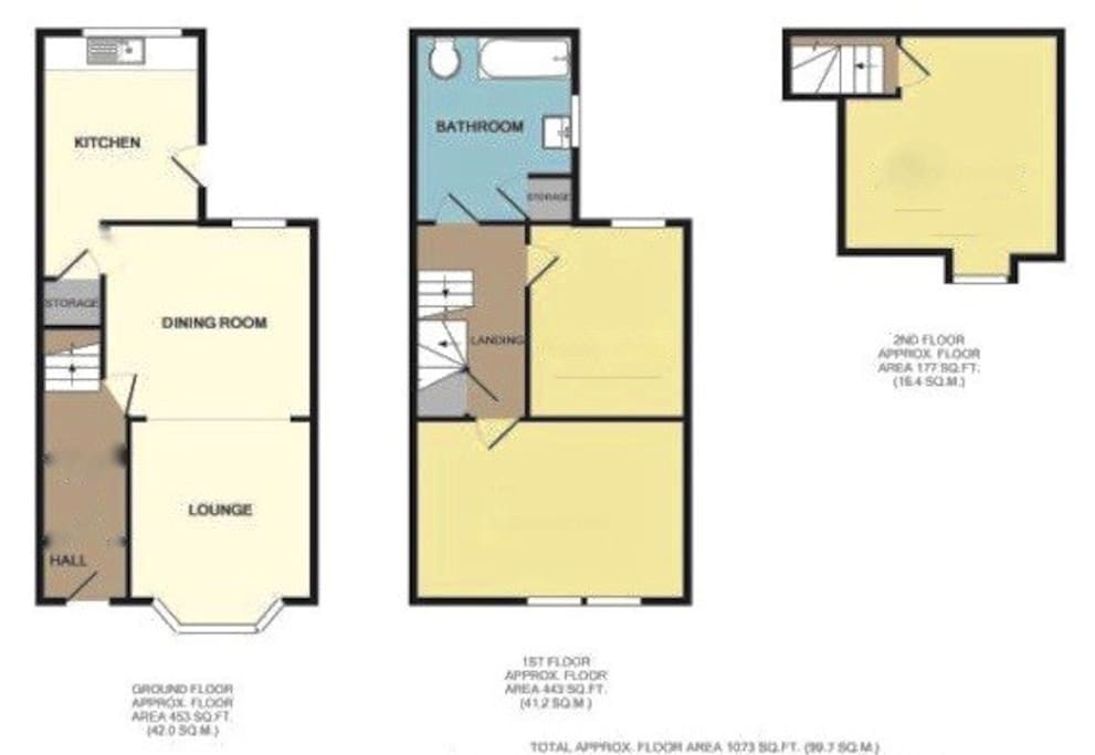 Layout of the house - you will have all of the first floor and share the bathroom with me.
