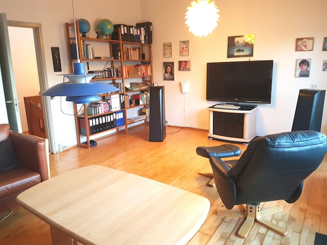 Lovely twofloors apartment 15 min. from CPH City. - Frederiksberg - Appartement
