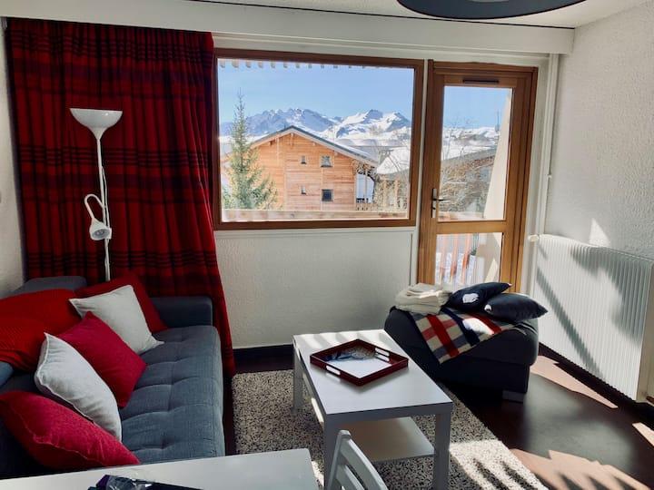 Grand T1 - Alpe d'Huez - SUR LES PISTES - Face ESF