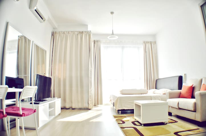 Bright Studio Beside Twin Towers - Kuala Lumpur - Apartamento