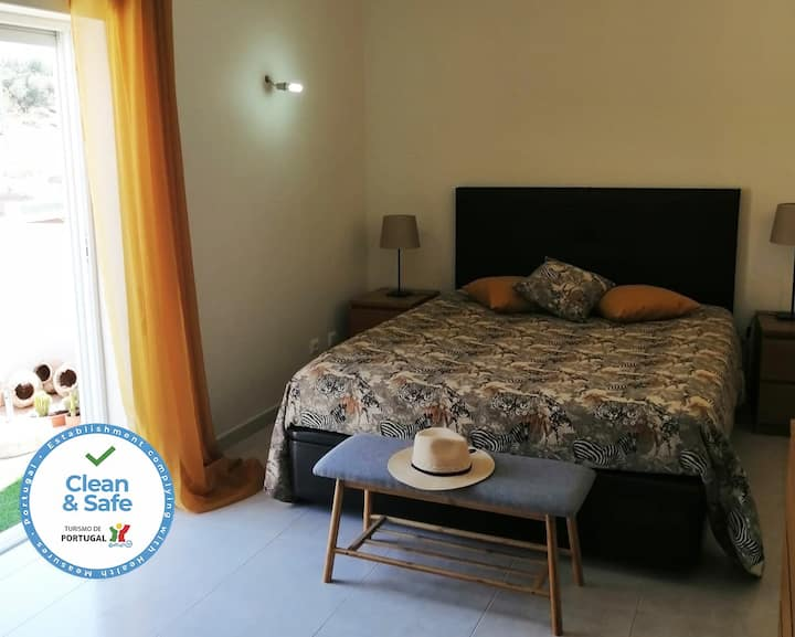 Large Double Room With Balcony and Pool