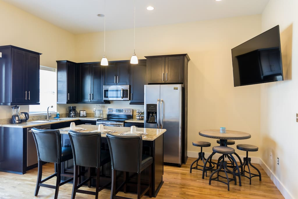 In-room kitchen/Dining area