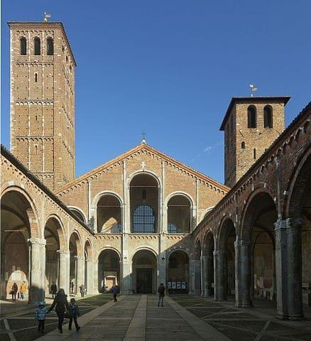 Sant'Ambrogio around