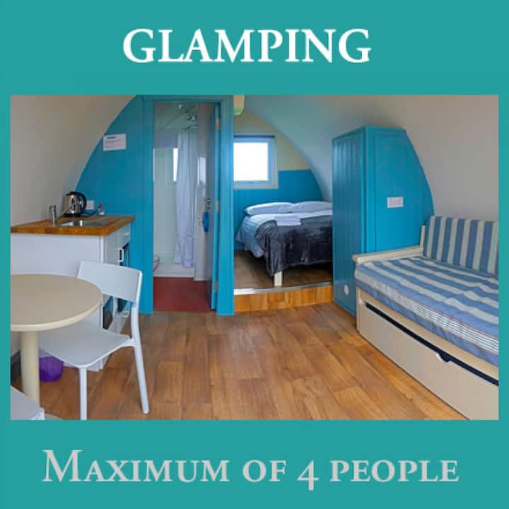 Aran Islands Camping & Glamping - The Clochán Self Catering Glamping Unit (up to 4 people)