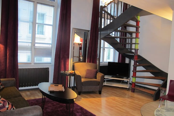 Duplex in the Heart of the City