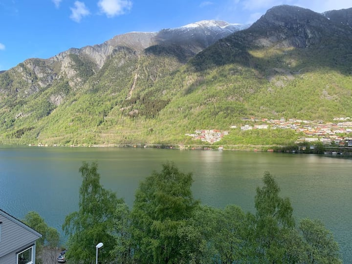 The best view of Odda in the city center