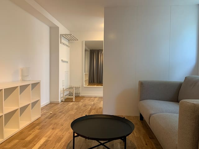 Modern, newly renovated apt in house on Solsidan