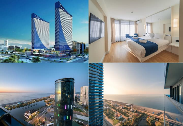 Orbi City Twin Towers (45 этажей floors) SeaView