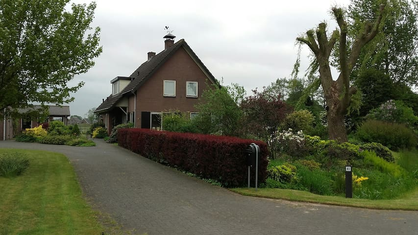 Landelijk gelegen,  comfortabel gastenverblijf - Beemte Broekland - Apartment