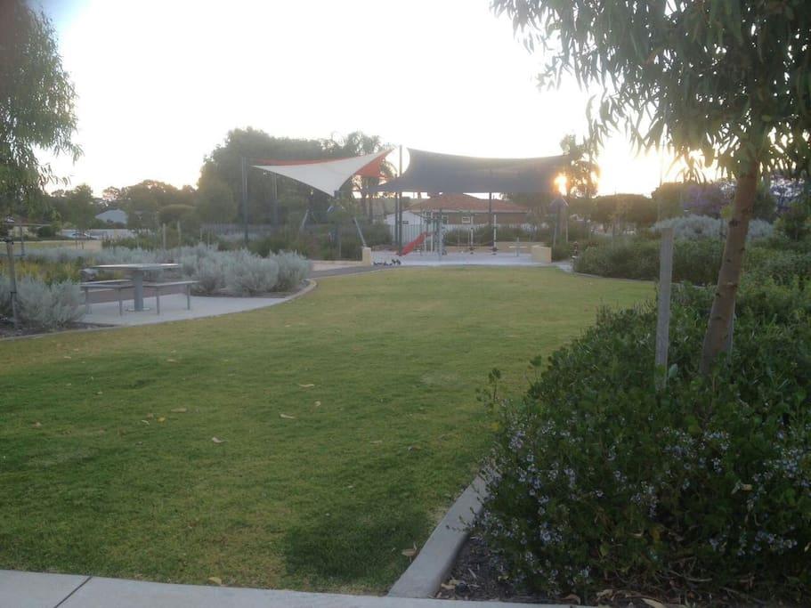 Walking distance to park & Playground