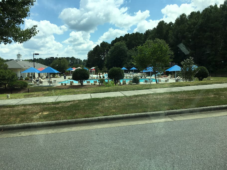 Swimming pool for the Oxford Park Blvd