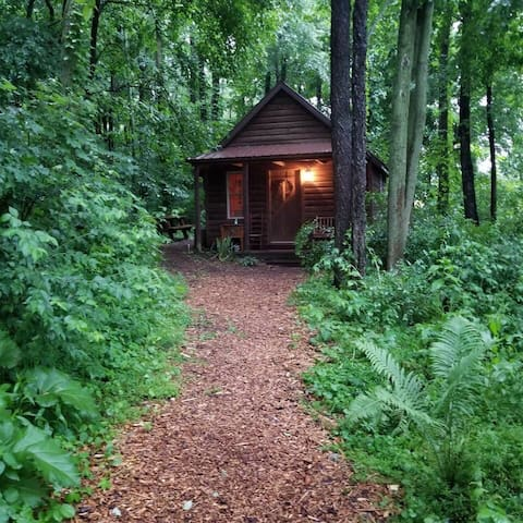 The Camp Cabin at The Darst-Myers Hallstead
