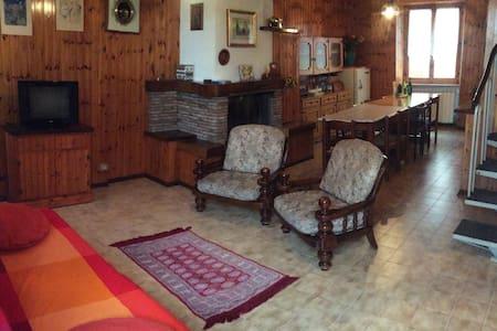 Casa a schiera nel parco di Frasassi, Gola Rossa - Arcevia