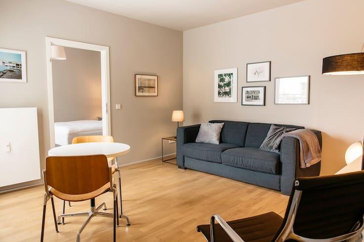 Schöne und helle City-Wohnung mit Balkon