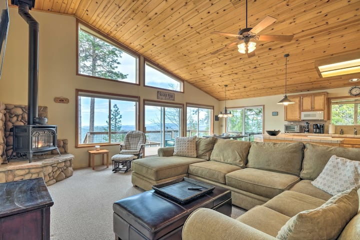 NEW! Pet-Friendly Mtn Home w/ Deck, 3 Mi to Hiking