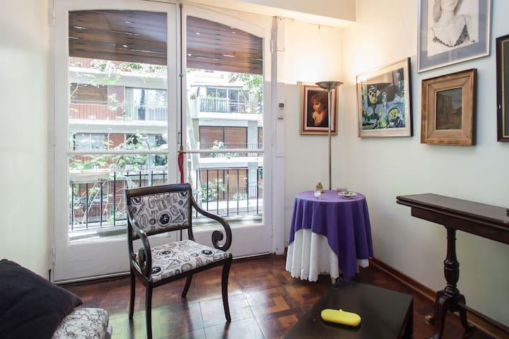 encantadora habitacion muy luminosa - Buenos Aires - Bed & Breakfast