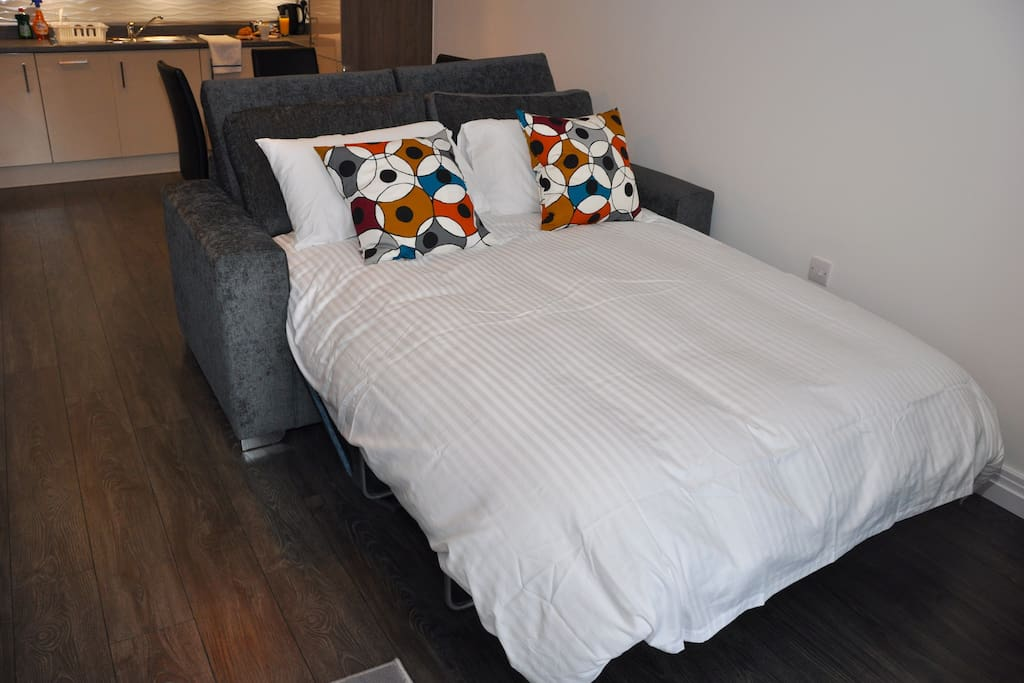 Deluxe 2 Bed Apartment Sofa Bed to sleep additional guest - free of charge