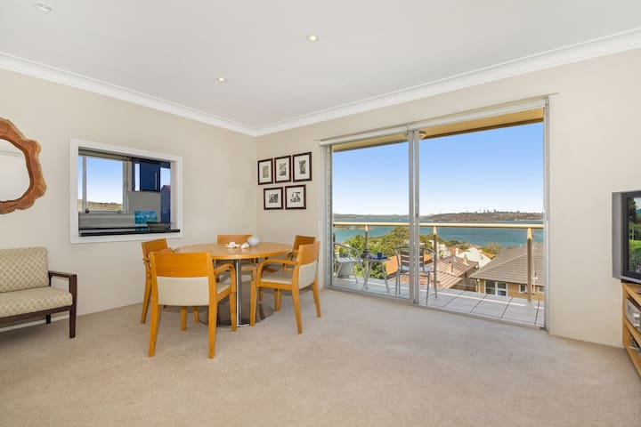 Harbour Side Apartment with Never-ending views - Manly - Lägenhet