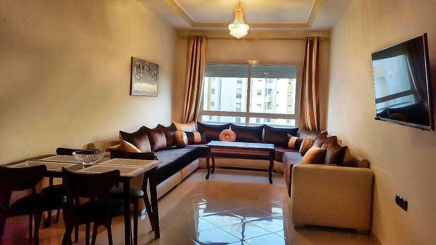 Luxury apartment Tanger centre next to the beach