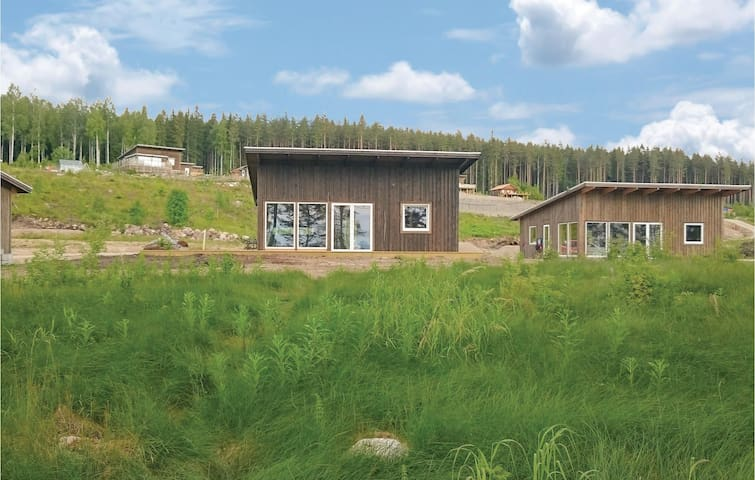 Holiday cottage with 2 bedrooms on 68m² in Bjuråker