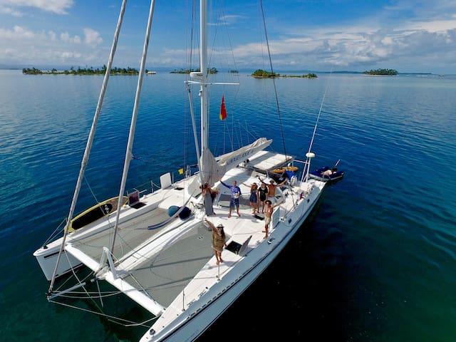 Cabins @ Angelique II Expedition Catamaran