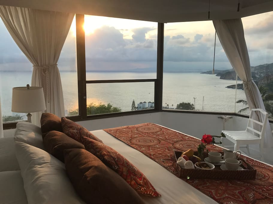 SunSet in your own room. Intimate for romance