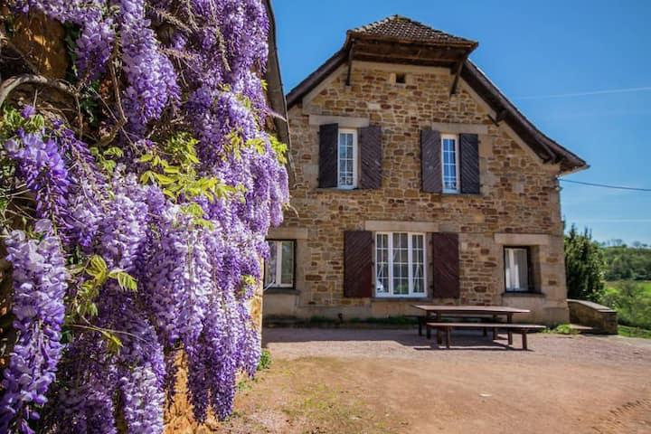 Grande maison de campagne près de Figeac