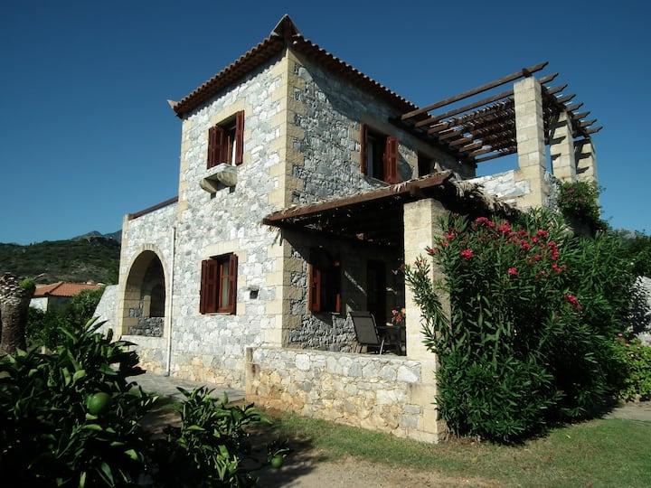 """Panorama"" the first floor of Villa Estia"