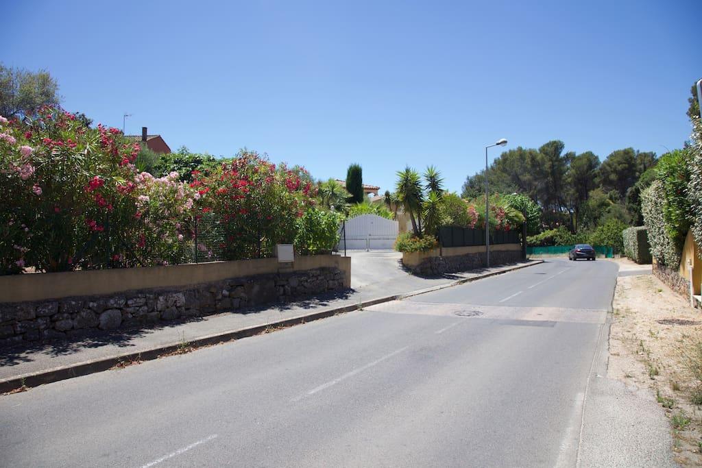 Bienvenue  700 Route du Vallon