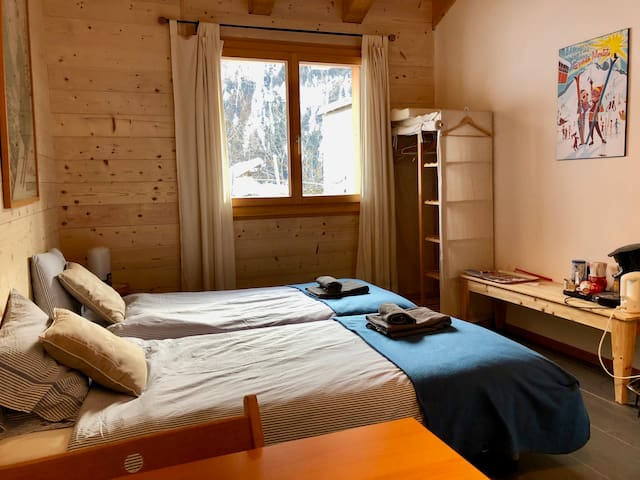 Bekker Chalet: private double room with breakfast