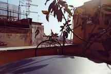 Little private terrace