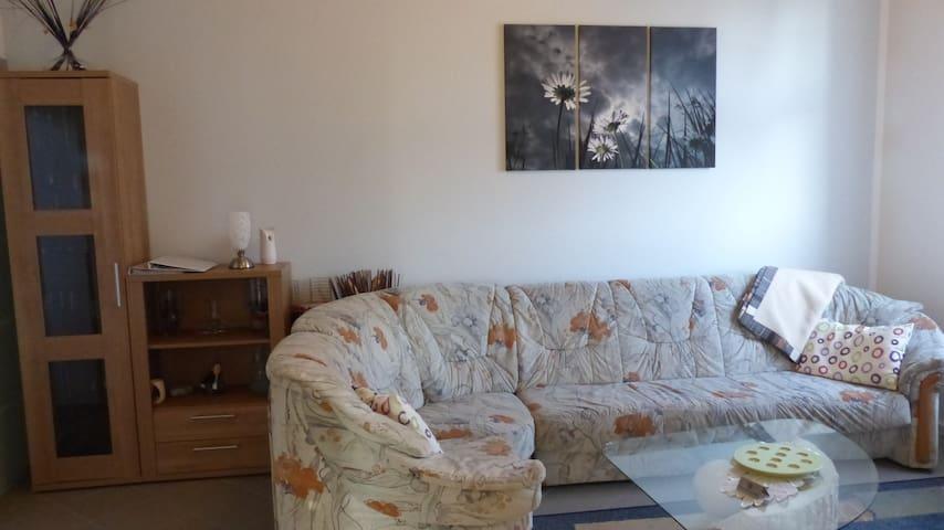 4-Sterne Ferienwohnung EG mit 120m² - Gützkow - Apartament