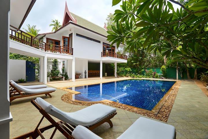 Villa Verde - 50m from the  beach - Ko Samui - Villa