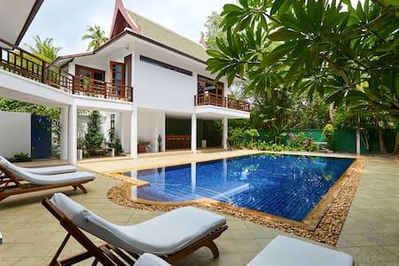 Villa Verde - 50m from the  beach - Ko Samui - Willa