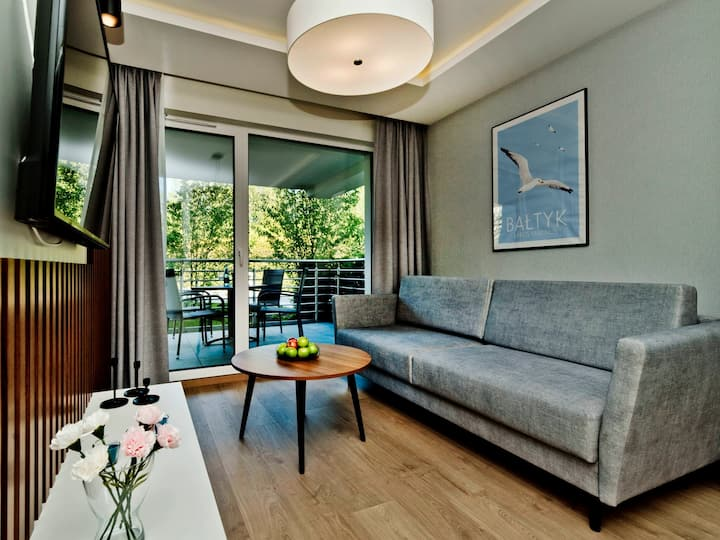 Comfy apartment with a terrace C7
