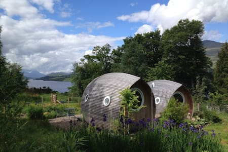Loch Tay secret garden with views