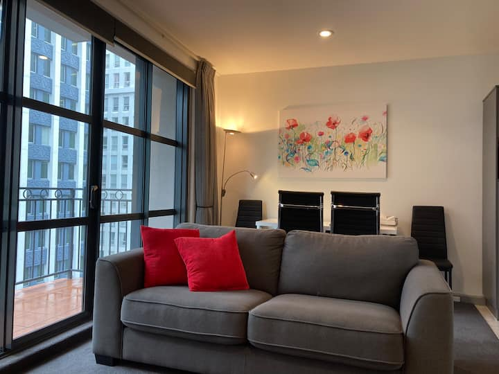 Poppy Suite on The Terrace: Central+Gym+Pool+Sauna