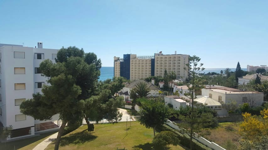 Vistas al mar, terraza y playa - Aguadulce - Flat