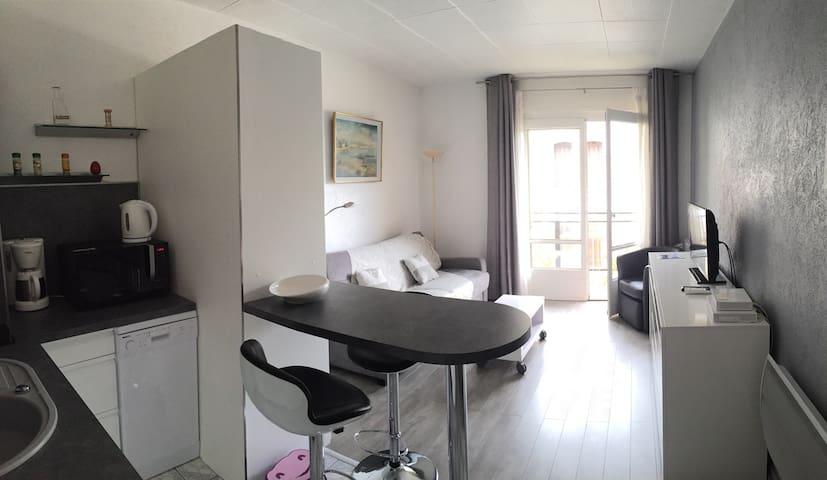 Studio à 5 min de l'embarcadère - Évian-les-Bains